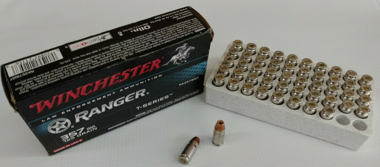"Winchester ""Ranger"" Ammunition .357 Sig Defense"