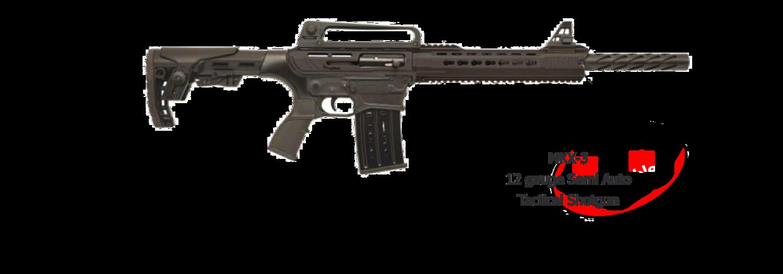 Radikal MODEL MKX-3-12G-24B 12 GAUGE SEMI-AUTO TACTICAL SHOTGUN