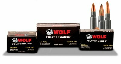 Wolf Performance Ammunition .223 Rem