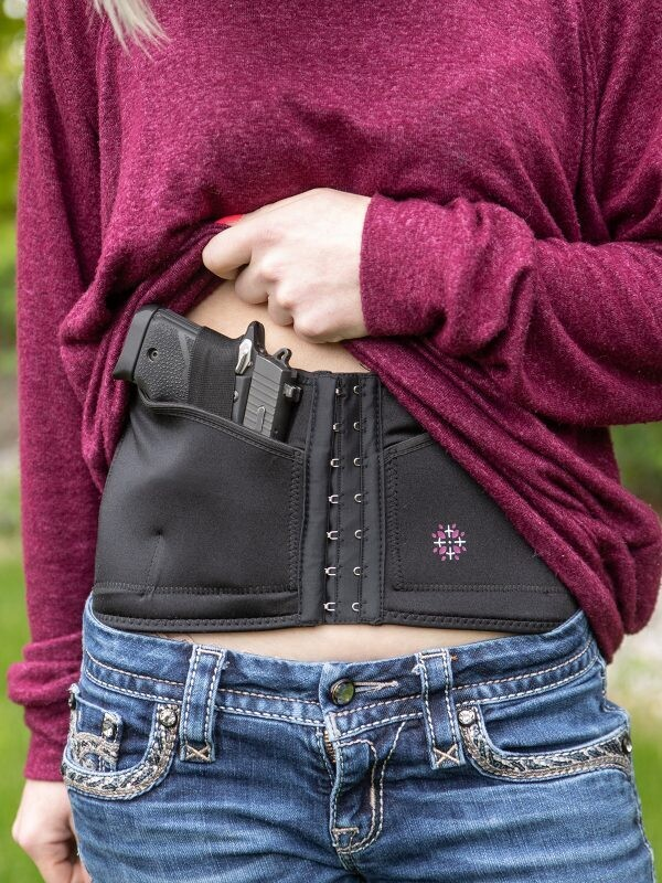Tactica Corset Holster - Concealed Carry Corset