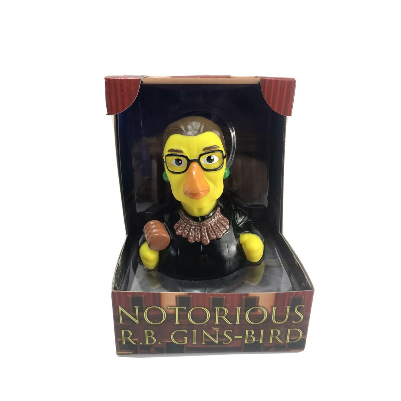 Celebriducks: Notorious R.B. Gins-bird