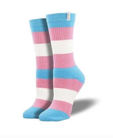 Trans Pride Socks L-XL