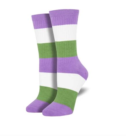 Genderqueer Pride Socks s-m