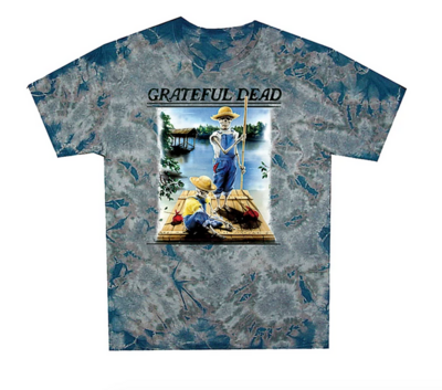Grateful Dead Tom Sawyer Tye Dye Tee