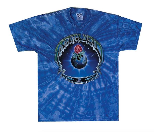 Grateful Dead Earth Rose Tie Dye Tee