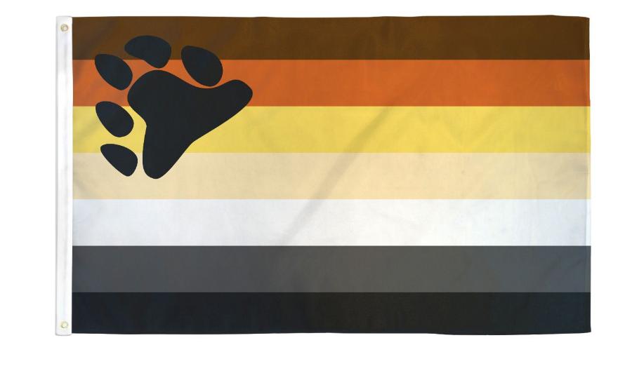 Bear 3x5 Flag