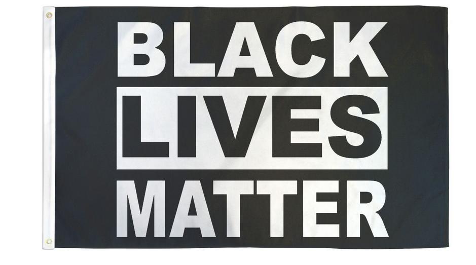 Black Lives Matter 3x5 Flag
