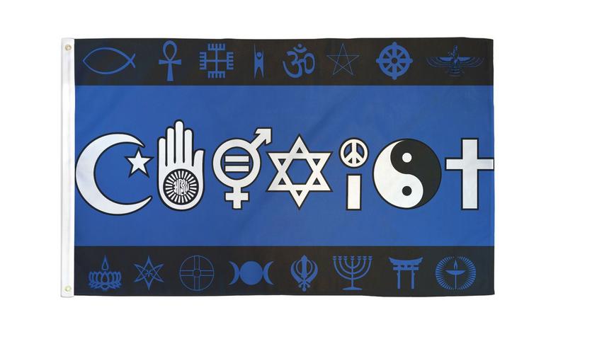 Coexist 3 x 5 Flag