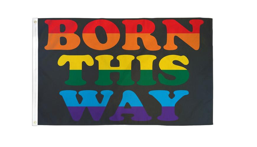 Born This Way Flag 3x5