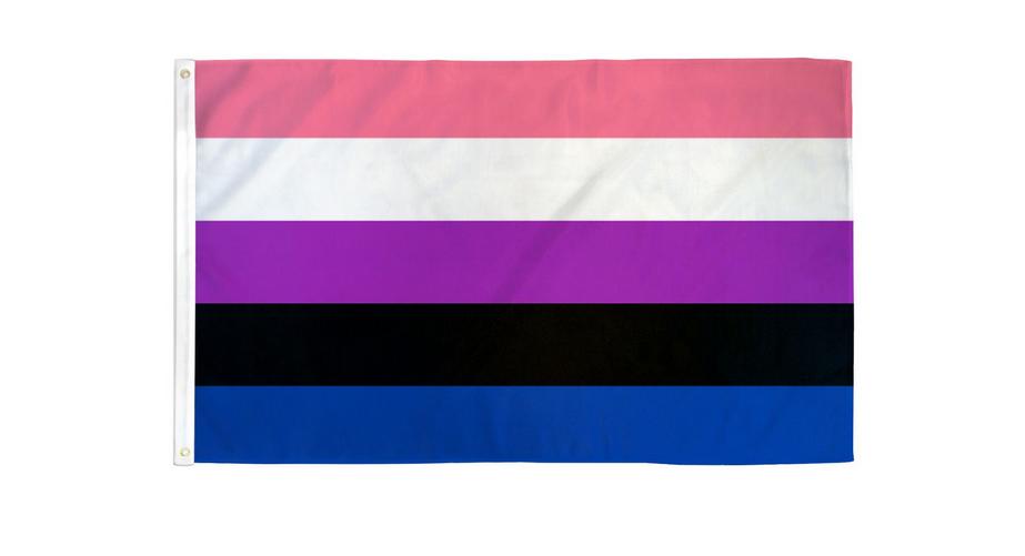 Gender Fluid Pride Flag Poly 3x5