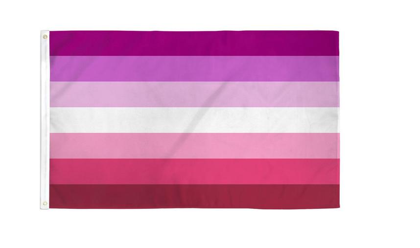 Lesbian Pride Flag Poly 3x5