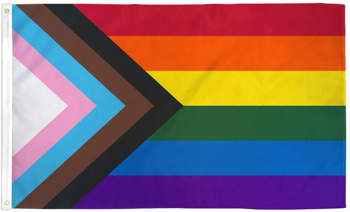 Progress Pride 3x5 Flag