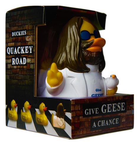 Celebriducks: Give Geese A Chance