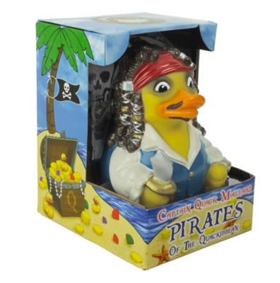 Celebriducks: Captain Quack Mallard