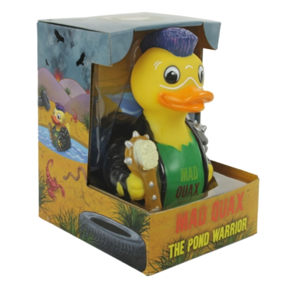 Celebriducks: Mad Quax The Pond Warrior