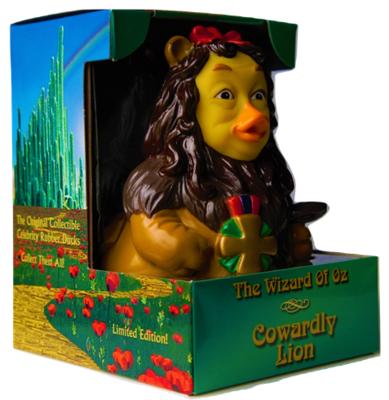 Celebriducks: The Wizard Of Oz Cowardly Lion