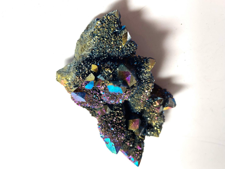 Druzy Titanium Aura Quartz 123 + Gram