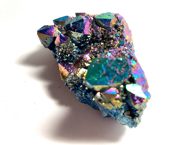 Druzy Titanium Aura Quartz 168 Gram
