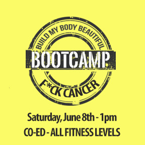 Charity Bootcamp June 8th