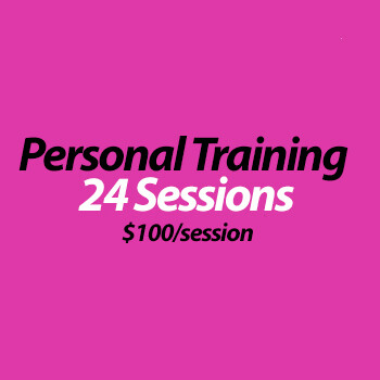 Personal Training (in studio) - 24 Sessions