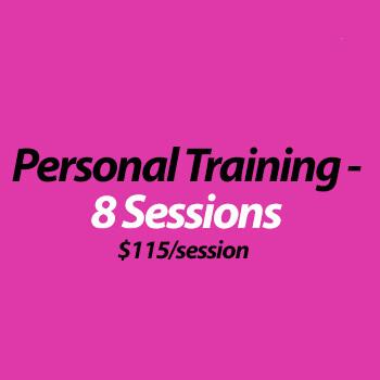Personal Training (virtual) - 8 Sessions