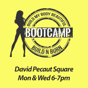 Evening Bootcamp - Mon, June 21 to Wed July 28 - 6 weeks - 2x a week