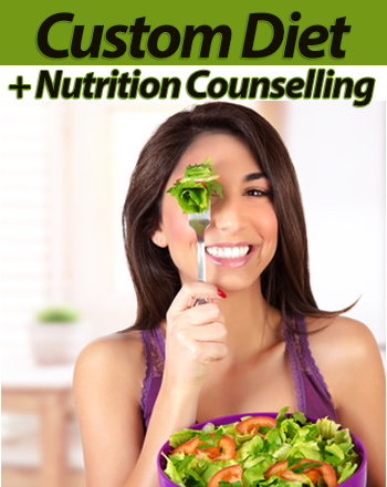 Initial Assessment + Custom Diet Plan + 2 Follow-Up Sessions