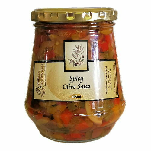 375 ml Spicy Olive Salsa