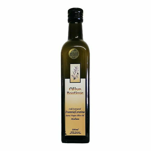 500 ml Frantoio / Coratina EVOO (Medium)