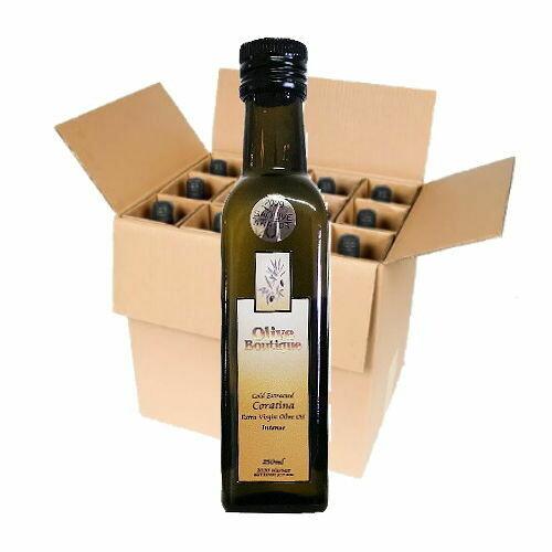 Case of 12 X 250 ml Frantoio / Coratina
