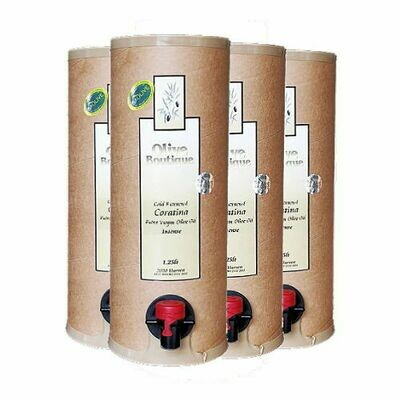 Case of 4 X 1,25 litre Frantoio/Coratina
