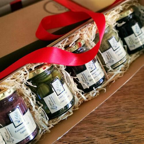 Olives & Olive Pastes (5 x 125ml jars)
