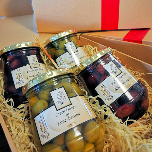 Olives (4 x 375ml jars)