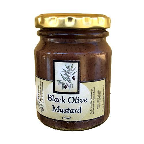 Case of 24 X 125 ml Black Olive Mustard