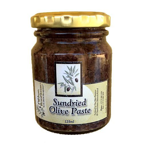 Case of 24 X 125 ml Sun Dried Olive Paste