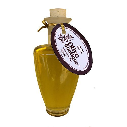 200 ml EVOO Body Oil in Glass Amphora