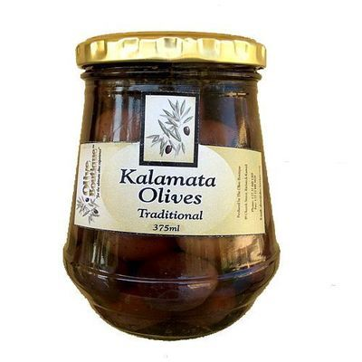 Case of 24 X 375 ml Kalamata Olives in the Traditional Style