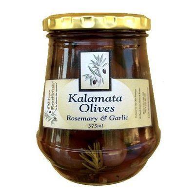 375 ml Kalamata Olives with Rosemary & Garlic