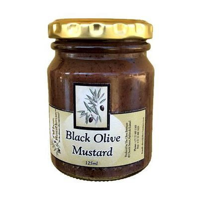 Case of 24 X 125 ml Black Olive Mustard