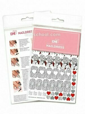 Naildress Slider Design #11 Lady in Red