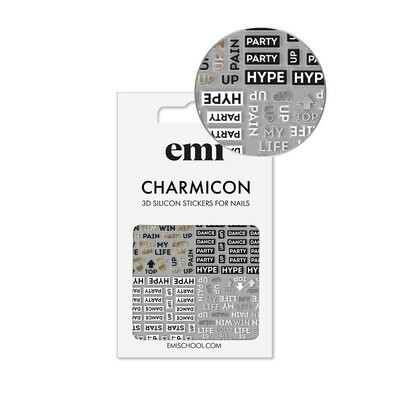 Charmicon Silicone Stickers 180 Hype