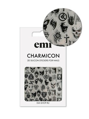 Charmicon Silicone Stickers #182 Gothic