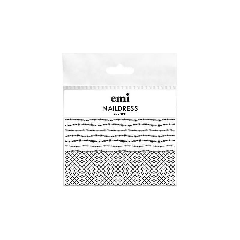 Naildress Slider Design Nr. 75 Grid