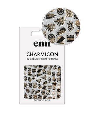 Charmicon 3D Silicone Stickers 187 Accents