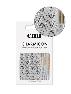 Charmicon 3D Silicone Stickers 194 Graceful Geometry