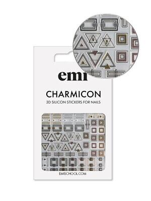 Charmicon 3D Silicone Stickers 192 Classic