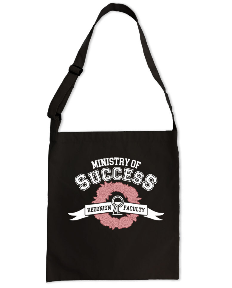 "Сумка-шоппер ""MINISTRY OF SUCCESS. HEDONISM FACULTY"""