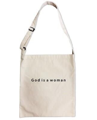 Сумка-шоппер «God is a woman»