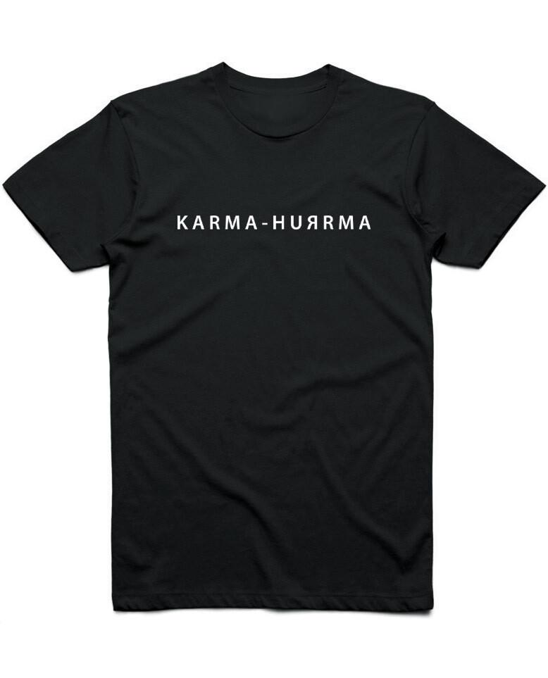 "Футболка ""KARMA-HUЯRMA"""