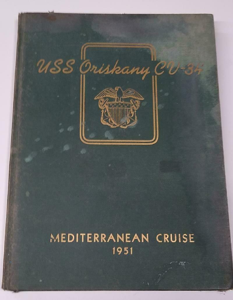 USS Oriskany Cruise Book 1951